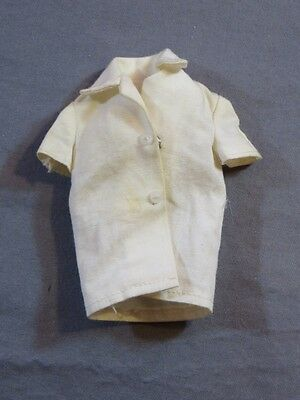 Vintage Original Barbie Skipper #1907 School Days White Shirt Blouse