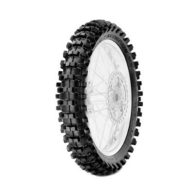 Pirelli NEW Scorpion MX 32 80/100-12 Mini Dirt Bike Mid Soft Rear Motocross Tyre