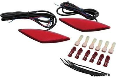 Show Chrome Accessories 41-161R Red LED Marker for Can-Am RT Saddlebags 41-8769