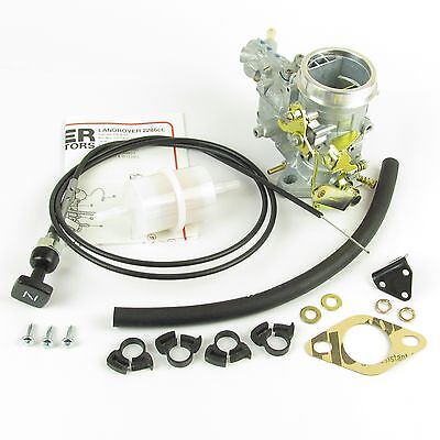Genuine Weber 34 ICH Carburettor Landrover 2286cc LAND ROVER 2A & 3 carb. NEW!