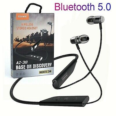 Stereo Wireless Bluetooth Headset  Headphones Sport for iPhone HTC Samsung
