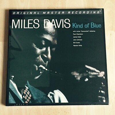 Miles Davis - Kind Of Blue MFSL 180g 45RPM Vinyl 2-LP Box-Set Neu/OVP
