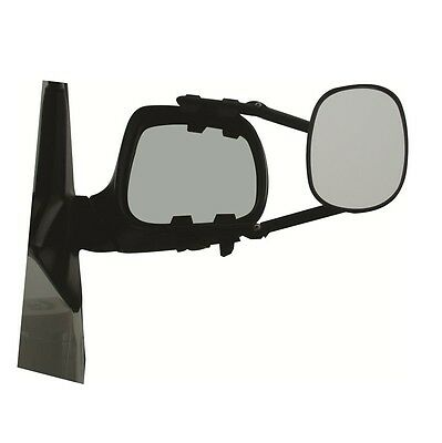 MGI Milenco Steady View XL Caravan Towing Mirror Twin Pack - X2 Flat