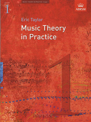 Music Theory In Practice: Grade 1 (ABRSM) Revised Sheet Music Book. NEW