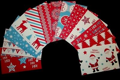 "*CHRISTMAS FUN* Colourful Christmas Scrapbooking Papers *15cm x 10cm (6 ""X 4"")"