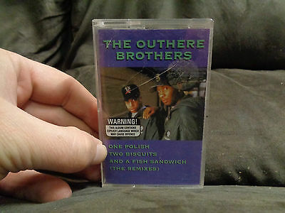THE OUTHERE BROTHERS_One Polish Two Biscuits_USED cassette_ships from AUS!_N4