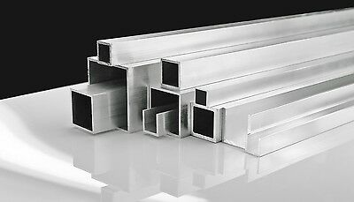 Aluminium Extrusion Angle Square Tubes U Channel Round Tube 500mm-5000mm