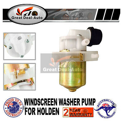 Holden Windscreen Wiper Washer Bottle Pump Rodeo Motor KB TF 1980 - 2003 12V