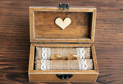 Rustic jewelry box, Ring Bearer Box, wedding ring box, Wedding box, ring box.