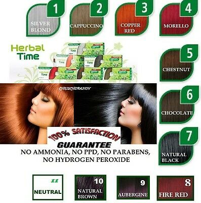 Best- 100% Real NATURAL HENNA COLOUR CREAM HERBAL HAIR COLORANT DYE READY TO USE