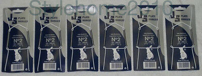 Wire Plate Hangers Pack Of 6 Size 2 To Fit Plates 19-28cm