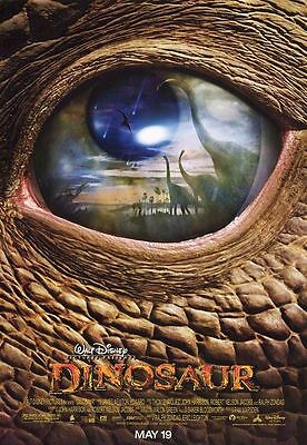 DINOSAUR MOVIE POSTER Original Movie Poster 2 Sided DS 27x40 New Mint Condition