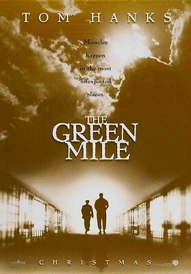 THE GREEN MILE - Original Movie Poster 2 Sided DS 27x40 New Mint Condition