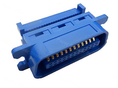 24 Pin Male Centronic IDC Connector for Rainbow Ribbon Flat Cable