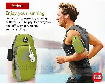 Water Resistant Sports Running Armbag Fashion Arm Bag -- up to 5.5inch phone