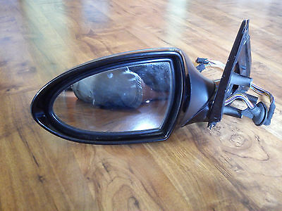 BMW 5 SERIES E60 M5 Heated Wing Mirror Left Passenger Side N/S Black/Graphite