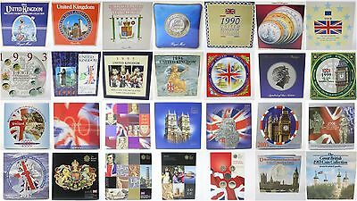 Coin Year Sets 1982 to 2011 - Royal Mint Uncirculated BIRTHDAYs, ANNIVERSARY