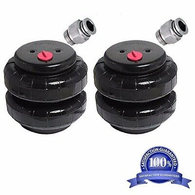 """Air Ride Suspension Air Bags Standard 2500 1/2""""npt Kit Replacement Part Fittings"""
