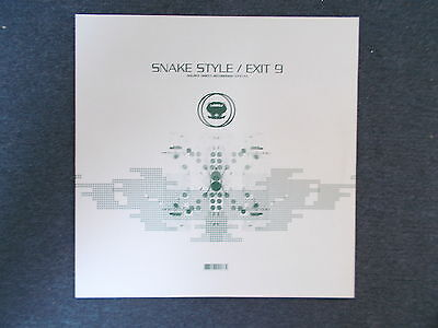 "Source Direct Snake Style / Exit 9 12"" Source Direct Recordings 2002 *NM*"