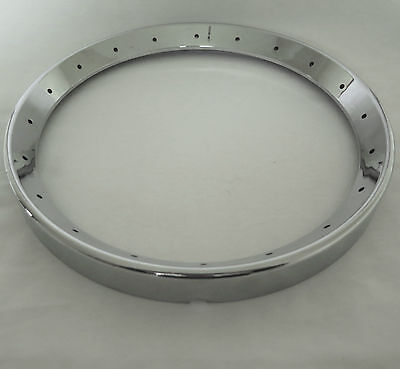 BANJO TONE RING 20 hole flat top Gibson pattern chrome