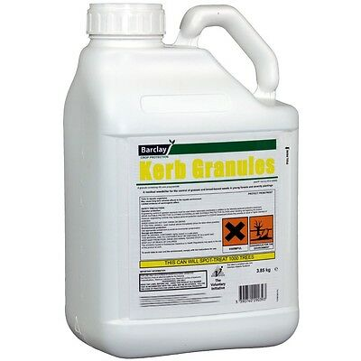 WEEDKILLER SCATTER ON GRANUALS 3.85kg  TREATS UPTO 1000 SQM