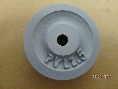 "New Other, Pvl2.5 X 3/8"" Bore, V Belt Pulley, Use With 1/4"" Wide V Belt."