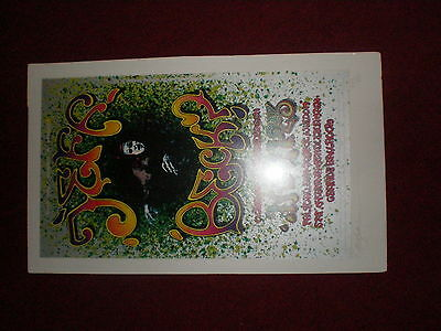 Jeff Beck POSTER Grande Ballroom SIGNED/NUMBERED