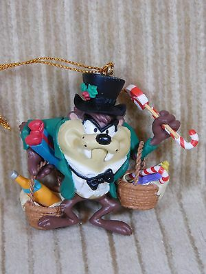 1996 Looney Tunes Tasmanian Devil Collectible Christmas Ornament