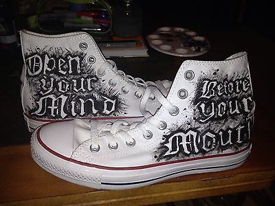 Loki's Custom Painted Shoes And Apparel. *Anime*Video Game*Hunger Games*Avengers