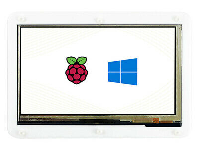 7inch HDMI 1024×600 Capacitive Touch Screen with Bicolor Case for Raspberry Pi