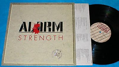 THE ALARM SPAIN LP STRENGTH 1985 ALTERNATIVE ROCK NEW WAVE Illegal Records Letra