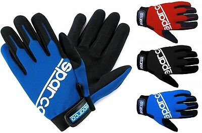 Genuine Sparco Meca-2 Driving, Go karting, Racing, Track Day & Mechanics Gloves