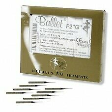 Ballet Gold Plated Needles G2 (50)