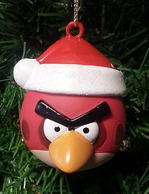 Kurt S. Adler Angry Birds™ Red Bird Ball With Santa Hat Christmas Ornament