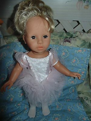 Zapf Colette 17 Quot Vinyl Doll Blonde Hair Brown Eyes Pink