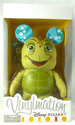 "Disney Vinylmation Pixar 1 New Crush 9"" and 3"" Squirt Limited Edition 1250 Rare"