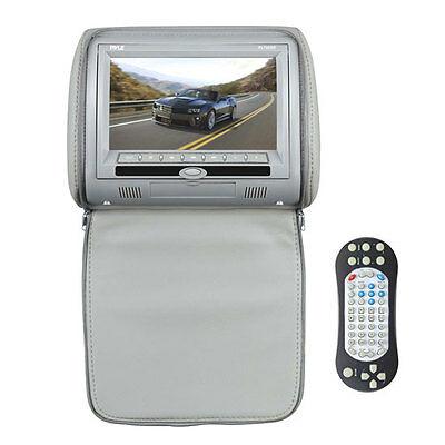 """New PL73DGR 7"""" Wide Screen Hi-Res Video Display Monitor Built-in DVD/USB/Remote"""