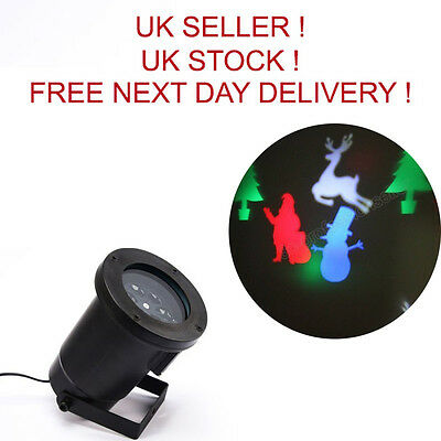 4 Pattern Moving LED Laser Light for Landscape House Outdoor Christmas Garden