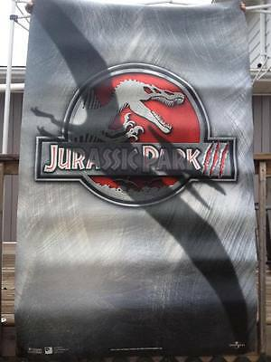 "Huge Jurassic Park 3 Movie Poster 90""x57"""