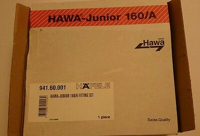 Hafele 941.60.001 HAWA Junior 160/A Fitting Set (1 set)
