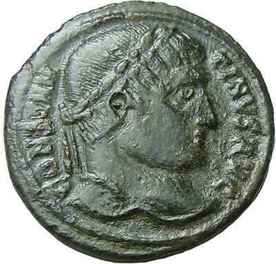 Constantine I the Great AE20 mm Authentic Ancient Roman Bronze Coin