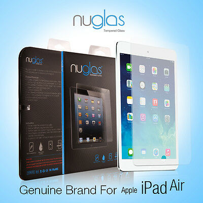 Genuine NUGLAS Tempered Glass Screen Protector for Apple iPad Air 1 2