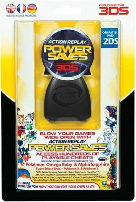 Datel Action Replay Power Saves  - 3DSBRAND NEW