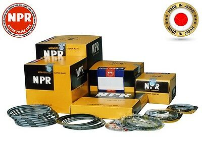 PISTON RINGS SET STD For Nissan Almera (QG15DE) NPR Japan