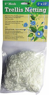 Trellis Netting 5' x 15' (150cm x 455cm) Plant Support Net Protect Plants Strong