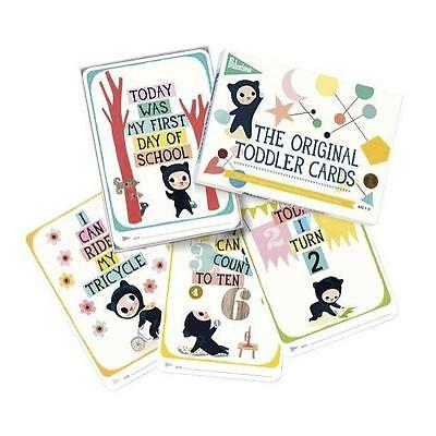 Milestone Toddler Cards Pack of 30 Illustrated Cards for Special Moments 1-4yrs
