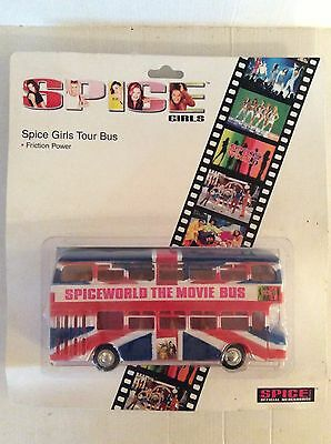 Spice Girls Tour Bus mint on card 1997