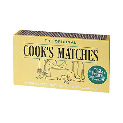 3 x BOXES ORIGINAL COOKS SAFETY MATCHES APPROX COOK CAMPING