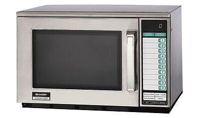 Brand New Sharp R-24Gtf Heavy Duty Commercial Microwave Oven 1800 Watts 1600W