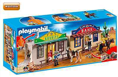 PLAYMOBIL® Western 4398 Mitnehm-WesternCity NEU_ My Take Along Western City NEW